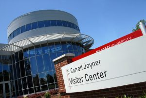 E. Carroll Joyner Visitor Center. PHOTO BY ROGER WINSTEAD